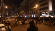 Spain Protest Clashes