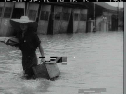 FLOODS IN JAPAN