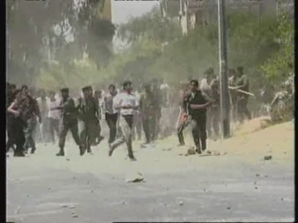MIDDLE EAST: 6 PALESTINIANS KILLED IN CLASHES WITH ISRAELI SOLDIERS