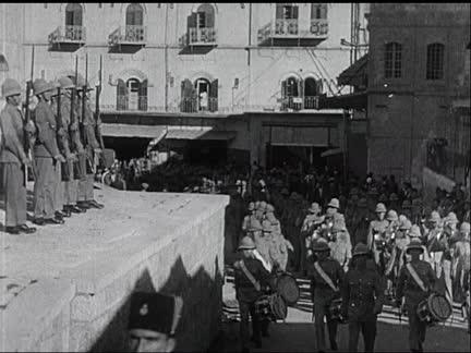 British Troops in Jerusalem