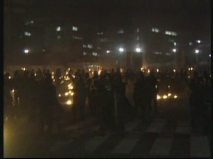 South Korea Riot