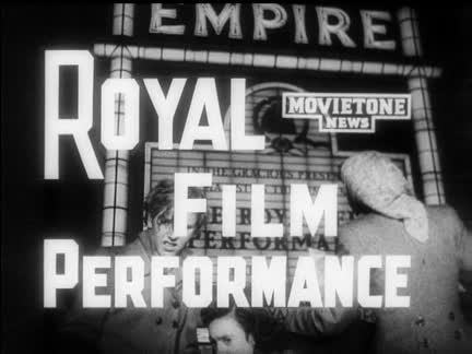 ROYAL COMMAND FILM PERFORMANCE