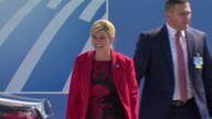 Belgium NATO Arrivals 2