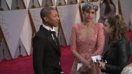 US Oscar Arrivals Diversity