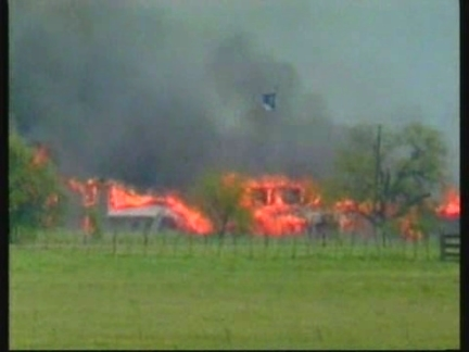 USA: 1993 FBI WACO INCIDENT PRESS CONFERENCE