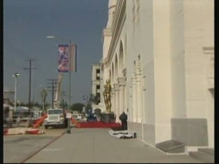 USA: LOS ANGELES: PREPARATIONS FOR 70TH ANNUAL ACADEMY AWARDS