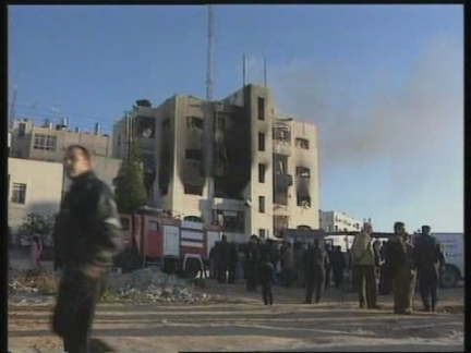 Middle East West Bank Ramallah Aftermath