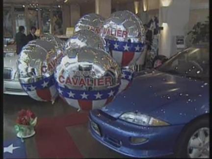 JAPAN: TOKYO: TOYOTA AND GENERAL MOTORS LAUNCH NEW CAR