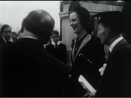 Queen Geraldine At Harrow
