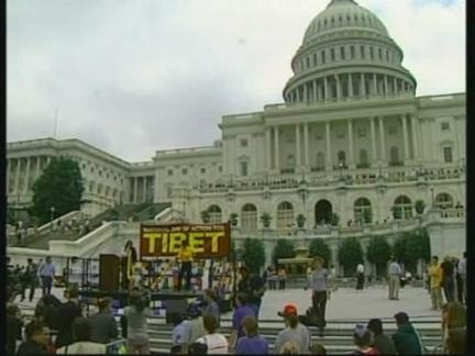 USA: WASHINGTON: FREEDOM FOR TIBET RALLY STAGED