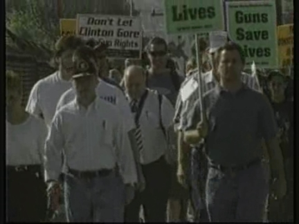 USA: NRA PROTEST MARCH