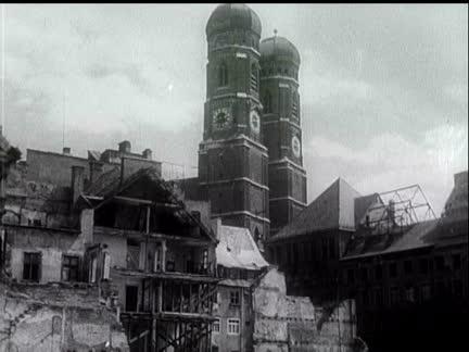 RESTORATION OF GERMAN CITIES
