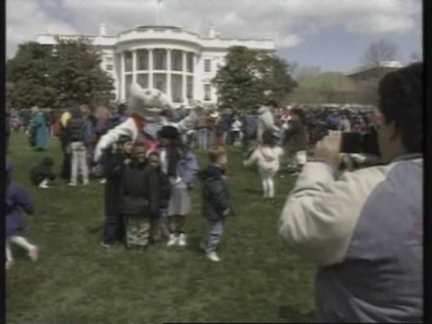 USA: WASHINGTON: CELEBRATION OF EASTER AT WHITE HOUSE