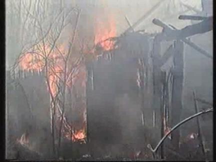 Ukraine - Fire Near Chernobyl Nuclear Power Plant