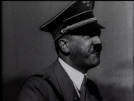 Hitler Assumes Command - German Troops Do The Lambeth Walk.