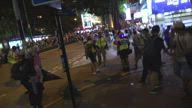 Police Tear Gas Tsim Sha Tsui
