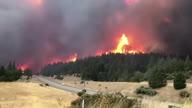 US CA Redding Wildfire