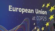 Spain COP25 EU Reax