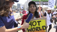 S Africa-Climate ChangeProtest