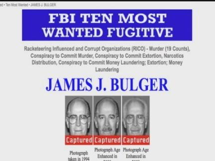DV Whitey Bulger Arrest (repl)