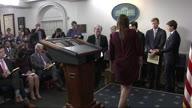 US WH Briefing Bolton (NR Lon)