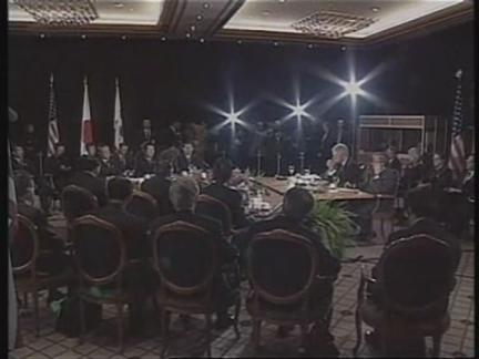 NEW ZEALAND: APEC SUMMIT: CLINTON MEETS KIM DAE-JUNG