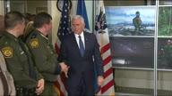US Pence Border Patrol
