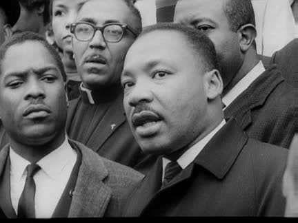 MARTIN LUTHER KING - US CIVIL RIGHTS LEADER