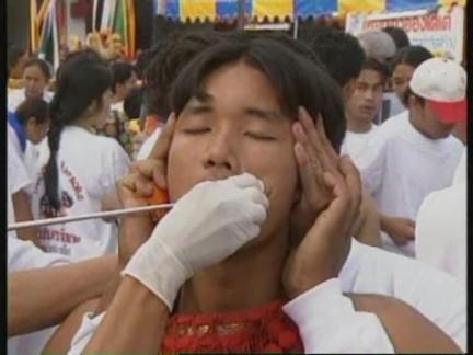 THAILAND: PHUKET: THAIPUSAM FESTIVAL BEGINS