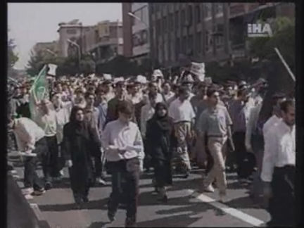 IRAN: STUDENT PROTESTORS CLASH WITH POLICE (2)