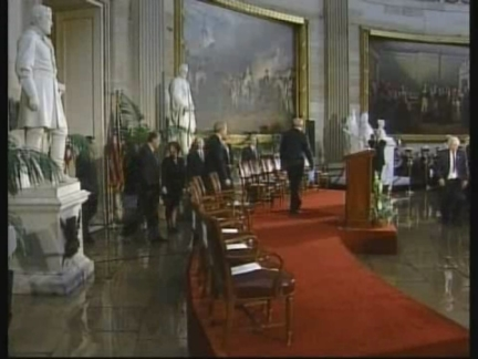 USA: GERALD FORD RECEIVES CONGRESSIONAL GOLD MEDAL