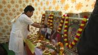 India Trump Prayers Protest