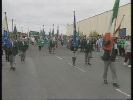 IRELAND: REPUBLICANS GATHER FOR ANNUAL WOLFE TONE RALLY