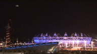 UK Olympics Fireworks
