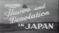 HAVOC AND DESOLATION  IN JAPAN
