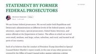 US Trump Mueller Prosecutors (Lon NR)