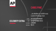 Entertainment UK Chris Pine