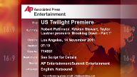 Entertainment US Twilight Premiere