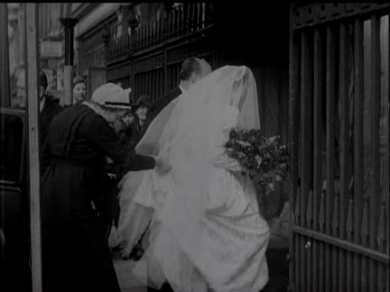 Wedding Of Miss Edvina Moss