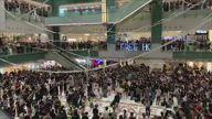 HK Protest 5 Demands Shatin