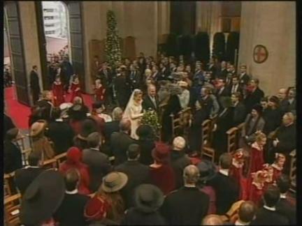 BELGIUM: CROWN PRINCE PHILIPPE WEDDING