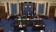US Senate Debate Interrupted