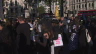 UK XR Fashion Protest