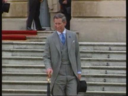 UK - Prince William meets Camilla Parker-Bowles