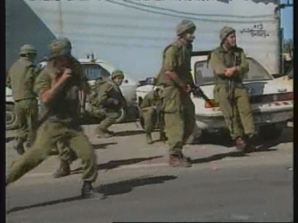 MIDDLE EAST: CLASHES IN HEBRON AS TALKS OVER TROOP PULLBACK GO ON