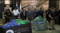 US PA Cocaine Seizure Presser (Lon NR)