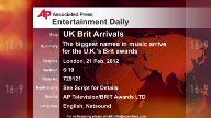 Entertainment UK Brit Arrivals