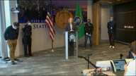 US WA Seattle Protest Mayor Briefing