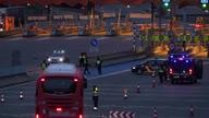 Spain France Virus Border