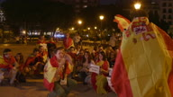 Spain Unionists Demo